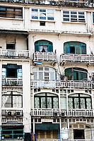 Apartments on Dong Khoi road, Saigon.