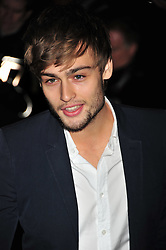 © Licensed to London News Pictures. 14/12/2011. London, England.Douglas Booth attends the English National Ballet: The Nutcracker - Christmas Performance in St Martins London .  Photo credit : ALAN ROXBOROUGH/LNP