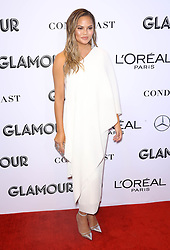 Chrissy Teigen at the 2018 Glamour Women Of the Year Awards: Women Rise at Spring Studios in New York City.
