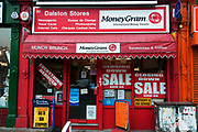 Hackney, London. Local shop, formerly post office, closing down.