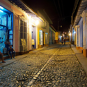 The streets of Trinidad, Cuba