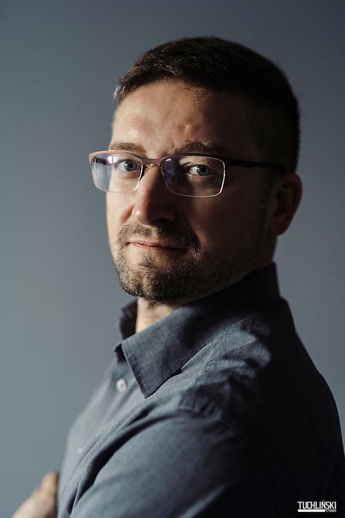 Olsztyn, Polska. 19.12.2019 <br /> Sedzia Pawel Juszczyszyn, sesja portretowa.<br /> Fot. Adam Tuchlinski dla Newsweek