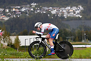 Elynor Backsted (Great Britain) during the 2018 UCI Road World Championships, Women Juniors Individual Time Trial 20 km on September 24, 2018 in Innsbruck, Austria - Photo Luca Bettini / BettiniPhoto / ProSportsImages / DPPI