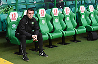 27/12/14 SCOTTISH PREMIERSHIP<br /> CELTIC v ROSS COUNTY<br /> CELTIC PARK - GLASGOW<br /> Celtic manager Ronny Deila takes his place in the dugout before the game