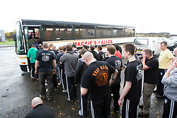 Pictures from the bus seminar at the International Krav Maga Federation grading and bus seminar on the 14th November 2010..The Bus Seminar and Grading was conducted by IKMF Chairman and Master Level Instructor, Avi Moyal, at the Scottish Martial Arts Centre, Dumyat Business Park, Tullibody..Pic ©2010 Michael Schofield. All Rights Reserved.