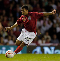 Photo: Jed Wee.<br /> England v Greece. International Friendly. 16/08/2006.<br /> <br /> England's Aaron Lennon enjoyed a very bright second half cameo.