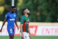 Rafik Guitane despair during the Liga NOS match between Belenenses SAD and Maritimo at Estadio do Jamor, Lisbon, Portugal on 17 April 2021.