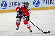 Etienne Froidevaux (SUI) im Testspiel zwischen der Schweiz und Schweden, am Mittwoch, 09. April 2014, in der Diners Club Arena Rapperswil-Jona. (Thomas Oswald)