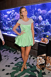 VOGUE WILLIAMS at a dinner hosted by Creme de la Mer to celebrate the launch of Genaissance de la Mer The Serum Essence held at Sexy Fish, Berkeley Square, London on 21st January 2016.