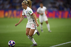 June 27, 2019 - Le Havre, France - Beth Mead (Arsenal WFC) of England controls the ball during the 2019 FIFA Women's World Cup France Quarter Final match between Norway and England at  on June 27, 2019 in Le Havre, France. (Credit Image: © Jose Breton/NurPhoto via ZUMA Press)