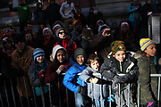 New York, NY-November 23: Audience attends the 91st Annual Macy's Thanksgiving Day Parade on November 23, 2017 held in New York City Credit: (Photo by Terrence Jennings/terrencejennings.com)