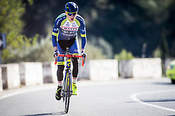 January 11, 2018 - Benidorm, SPAIN - Jasper De Laat pictured in action during a training session of Belgian cycling team Wanty-Groupe Gobert, in Benidorm, Spain, Thursday 11 January 2018. BELGA PHOTO JASPER JACOBS (Credit Image: © Jasper Jacobs/Belga via ZUMA Press)