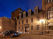Old House on Rue de l'Hopital, Old Montreal, Quebec, Canada