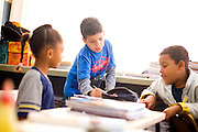 Belo Horizonte_MG, Brasil...Garoto autista na sala de aula da Escola Municipal Jose de Calazans...The autistic boy in the classroom of the Escola Municipal Jose de Calazans...Foto: LEO DRUMOND / NITRO
