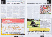 All Ireland Senior Hurling Championship Final,.03.09.2006, 09.03.2006, 3rd September 2006,.Senior Kilkenny 1-16, Cork 1-13,.Minor Tipperary 2-18, Galway 2-7.3092006AISHCF,.Kilkenny Advertiser,