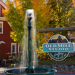 Old Mill art gallery in Whitefield, New Hampshire.