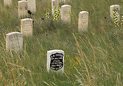 Little Bighorn Battlefield National Monument, Crow Agency, Montana, the sight of Custer's last stand.