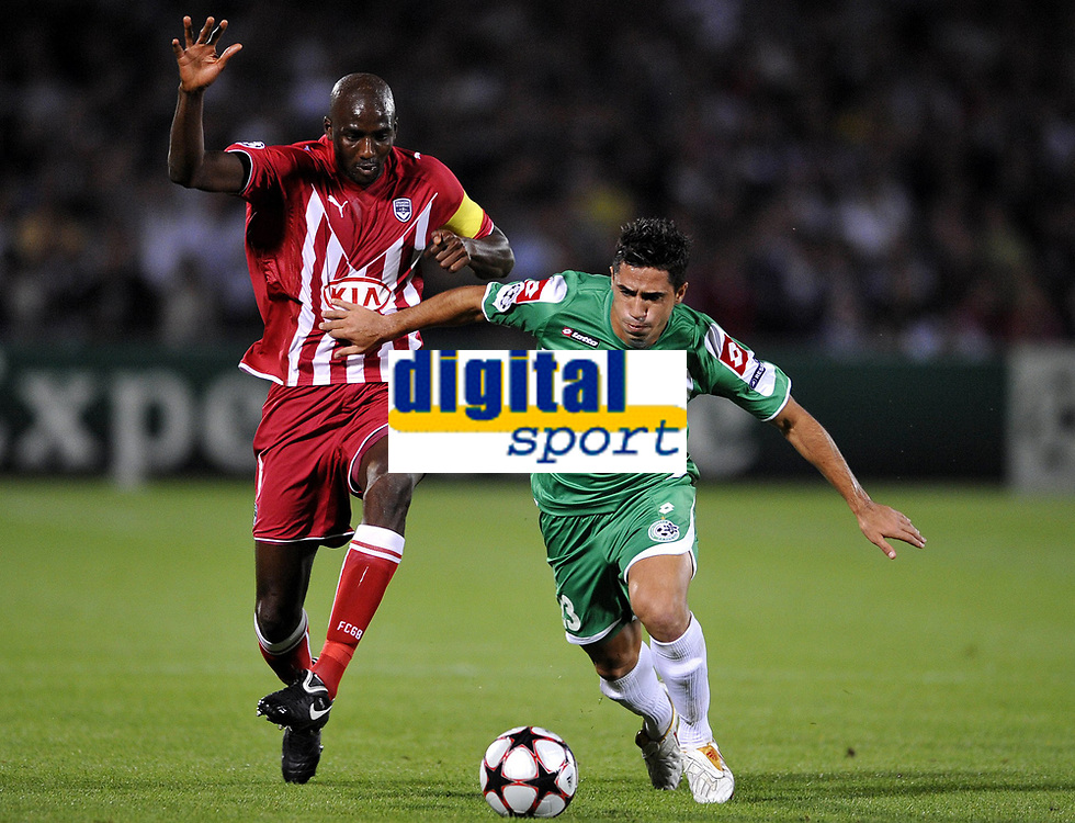 Fotball<br /> Frankrike<br /> Foto: DPPI/Digitalsport<br /> NORWAY ONLY<br /> <br /> FOOTBALL - UEFA CHAMPIONS LEAGUE 2009/2010 - GROUP A - GIRONDINS BORDEAUX v MACCABI HAIFA - 30/09/2009 <br /> <br /> ALOU DIARRA (BOR)