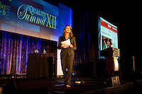 Dr Elizabeth Cohen of CNN addressing the Quality Care  Summit in Chicago