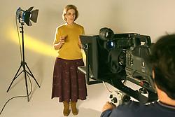 A candidata ao governo do Estado do RS Yeda Crusius durante gravação do programa de televisão FOTO: Jefferson Bernardes/Preview.com