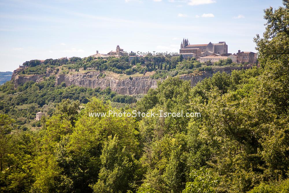 Amelia, Umbria, Italy. Ameria ancient hill fort,