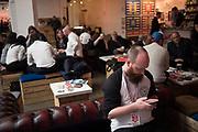 Beer festival, Truman Brewery,  London, 22 February 2019