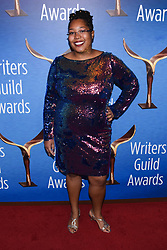 February 17, 2019 - Beverly Hills, California, USA - DAWN KAMOCHE attends the 2019 Writers Guild Awards Los Angeles Ceremony at The Beverly Hilton Hotel in Beverly Hills, California, (Credit Image: © Billy Bennight/ZUMA Wire)