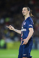 Zlatan IBRAHIMOVIC - 03.05.2015 - Nantes / Paris Saint Germain - 35eme journee de Ligue 1<br />