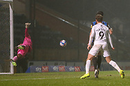 Goal Oxford during the EFL Sky Bet League 1 match between Rochdale and Oxford United at the Crown Oil Arena, Rochdale, England on 26 January 2021.
