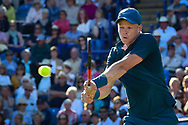 Kyle Edmund of Great Britain during the Nature Valley International at Devonshire Park, Eastbourne, United Kingdom on 27 June 2018. Picture by Martin Cole.