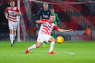 Herbie Kane of Doncaster Rovers (15) passes the ball during the EFL Sky Bet League 1 match between Doncaster Rovers and Southend United at the Keepmoat Stadium, Doncaster, England on 12 February 2019.