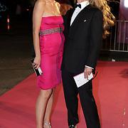 NLD/Amsterdam/20080929 - Pink Ribbon gala 2008, Anouk Smulders - Voorveld en Tom Sebastian