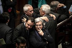 Roma 19.04.2013 - Camera dei Deputati. Il Parlamento è riunito in seduta comune per eleggere il successore di Giorgio Napolitano come Presidente della Repubblica. Foto Giovanni Marino