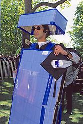 John Hancock Dresses As Computer, Tufts University 1997 Graduation