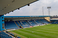 General view inside the Priestfield  Stadium during the EFL Sky Bet League 1 match between Gillingham and Rochdale at the MEMS Priestfield Stadium, Gillingham, England on 30 March 2019.