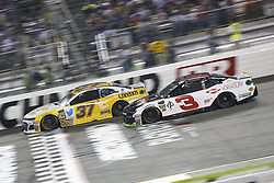 September 22, 2018 - Richmond, Virginia, United States of America - Chris Buescher (37) battles for position during the Federated Auto Parts 400 at Richmond Raceway in Richmond, Virginia. (Credit Image: © Chris Owens Asp Inc/ASP via ZUMA Wire)