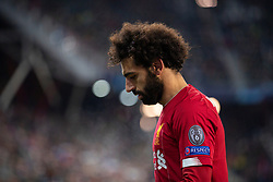 SALZBURG, AUSTRIA - Tuesday, December 10, 2019: Liverpool's Mohamed Salah during the final UEFA Champions League Group E match between FC Salzburg and Liverpool FC at the Red Bull Arena. (Pic by David Rawcliffe/Propaganda)