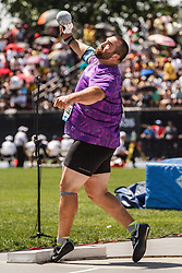 adidas Grand Prix Diamond League Track & Field: Men's Shot Put, Jordan Clarke, USA