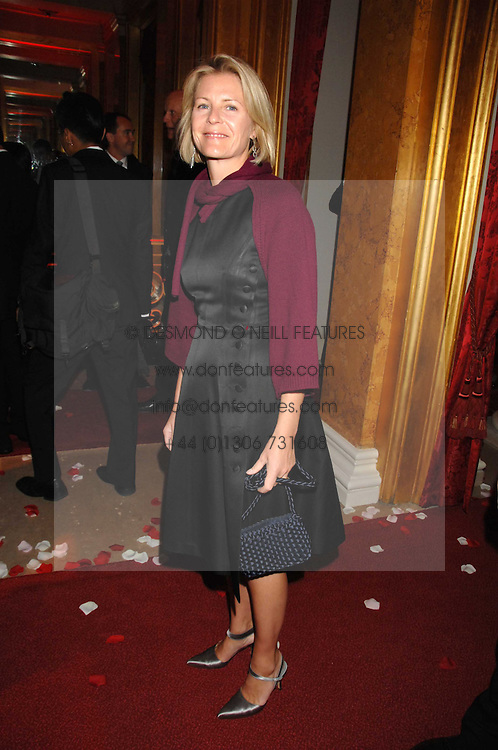 VISCOUNTESS LINLEY at a party to celebrate the launch of the 'Inde Mysterieuse' jewellery collection held at Lancaster House, London SW1 on 19th September 2007.<br /><br />NON EXCLUSIVE - WORLD RIGHTS