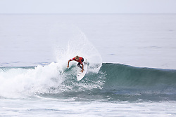 September 15, 2017 - Current No.2 on the Jeep Leaderboard and reigning World Champion John John Florence of Hawaii finishes equal 3rd in the 2017 Hurley Pro Trestles after placeing second to No.9 Filipe Toledo of Brazil in Semifinal Heat 2 at Trestles, CA, USA...Hurley Pro at Trestles 2017, California, USA - 15 Sep 2017 (Credit Image: © Rex Shutterstock via ZUMA Press)