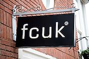 fcuk shop sign, Colchester, Essex