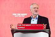 22 May 2017: Labour Leader Jeremy Corbyn in Hull, East Yorkshire, this morning.<br /> Picture: Sean Spencer/Hull News & Pictures Ltd<br /> 01482 210267/07976 433960<br /> www.hullnews.co.uk         sean@hullnews.co.uk