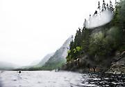 Parc national du Fjord-du-Saguenay, Québec.