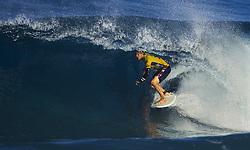 December 18, 2017 - Banzai Pipeline, HI, USA - BANZAI PIPELINE, HI - DECEMBER 18, 2017 - John John Florence of Hawaii wins the World Surf League world title at the Billabong Pipe Masters. (Credit Image: © Erich Schlegel via ZUMA Wire)