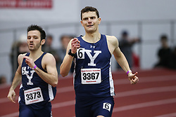 Chapman, Yale, 500, wins<br /> Boston University Athletics<br /> Hemery Invitational Indoor Track & Field