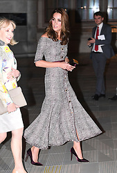The Duchess of Cambridge (right) during the V&A Photography Centre Opening at the Victoria and Albert Museum in London on October 10, 2018.