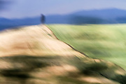 Out of focus and blurred landscape