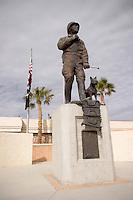 George S. Patton Statue at General Patton Memorial Museum, Chiriaco Summit, California
