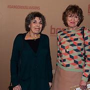 NLD/Amsterdam/20200221 - Premiere Dangerous Liaisons, Hanneke Groenteman en Hedy d'Ancona