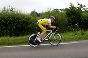 UK, Chelmsford, 28 June 2009: COLIN RINGROSE (S) CHELMER.C.C. completed the E9 / 25 course in 1 hour 5 mins 16 secs. Images from the Chelmer Cycle Club's Open Time Trial Event on the E9 / 25 course. Photo by Peter Horrell / http://peterhorrell.com .